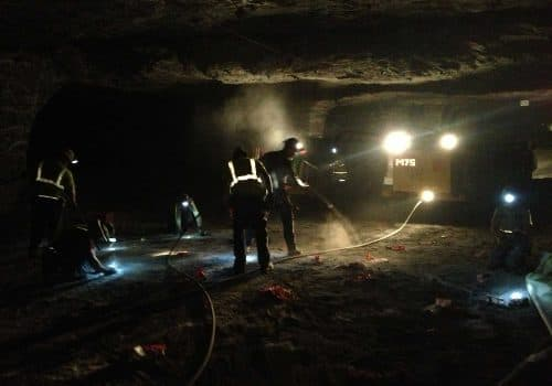 IEX Supporting Underground Mine Applications